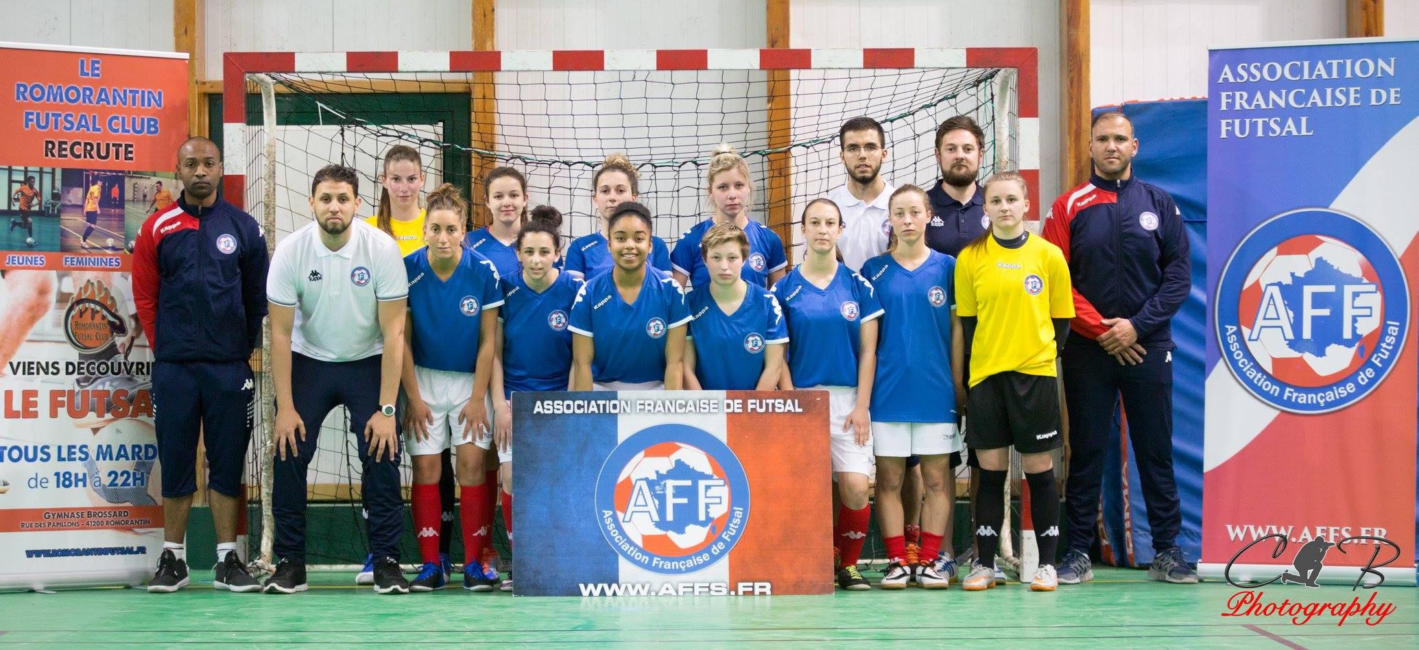 equipe de france futsal feminin aff