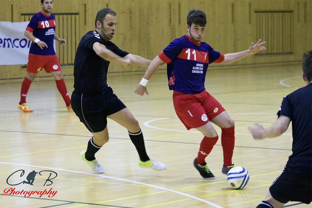USR Futsal a fini par craquer - UEFs Futsal Champions Cup 2015
