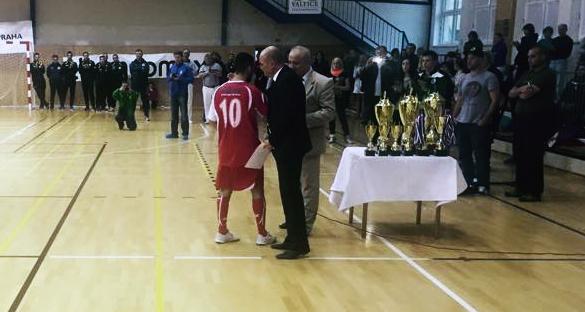 Y. Laaraj (Lipino Zilina) - Best Player UEFS Futsal Champions Cup 2015