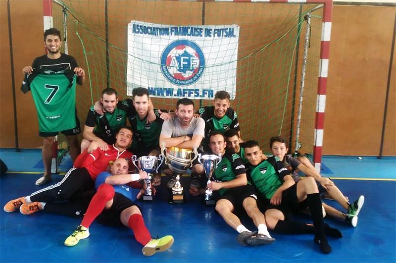 Vauvert Futsal vainqueur Coupe de France de Futsal AMF 2015