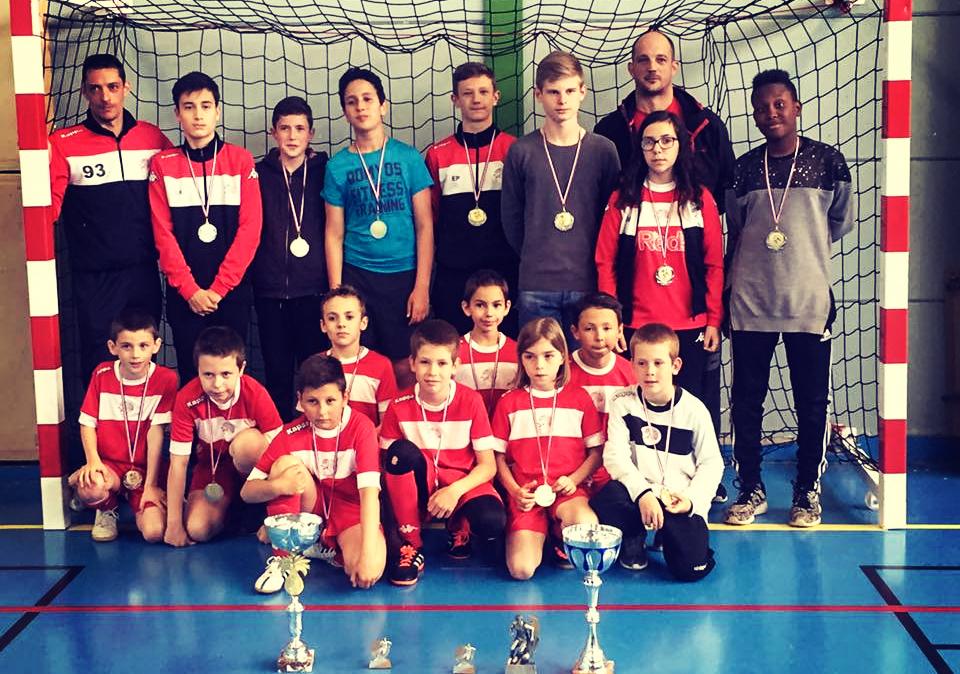 Academy Futsal France : USR Futsal double champion !