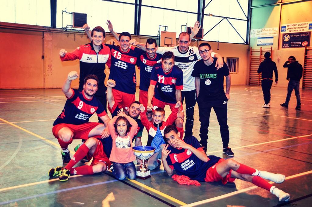 USR Futsal remporte une nouvelle Coupe du Centre !
