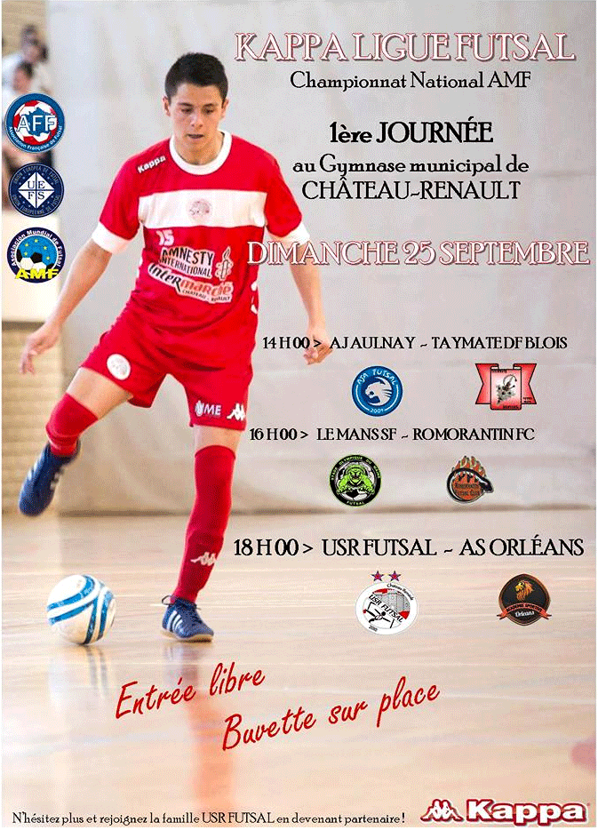 Kappa Ligue Futsal : c'est parti