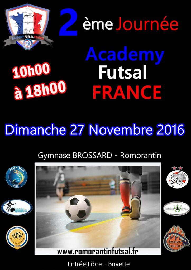 2ème Journée Academy Futsal