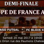 demi finale coupe de france futsal amf