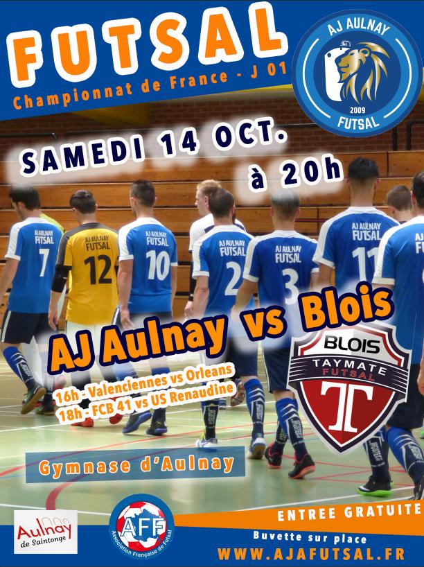 affiche kappa ligue futsal J1 2018