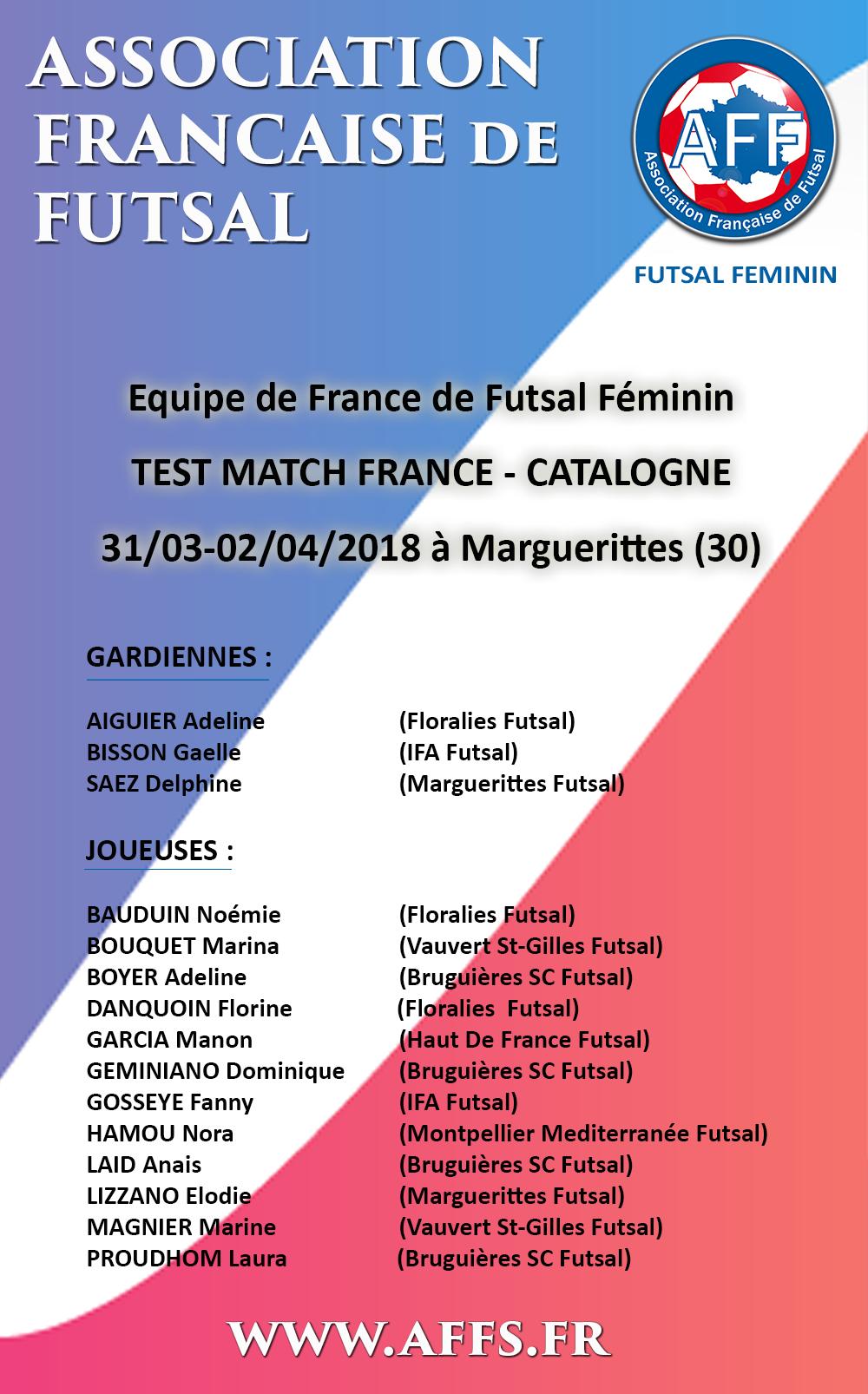 convocation-france-catalogne-edf-feminine-futsal-amf-aff