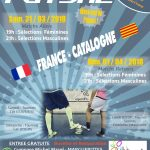 france catalogne j-1 futsal france