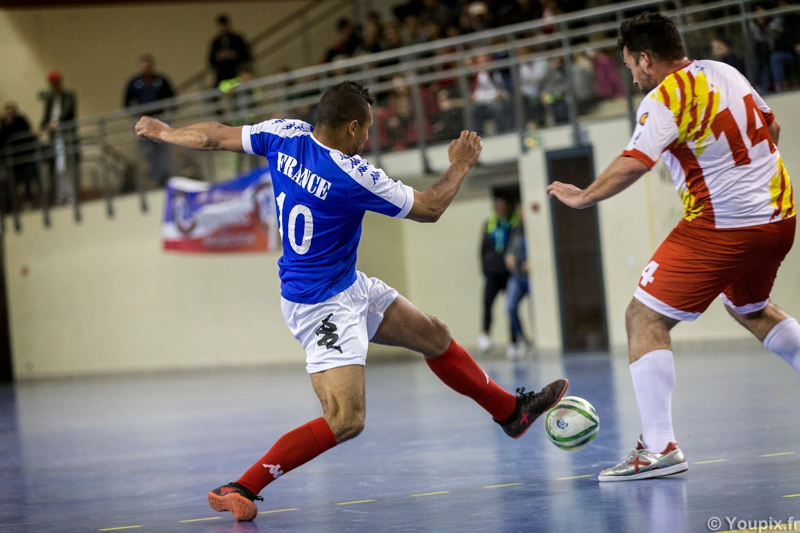 tests matches futsal france catalogne amf 2