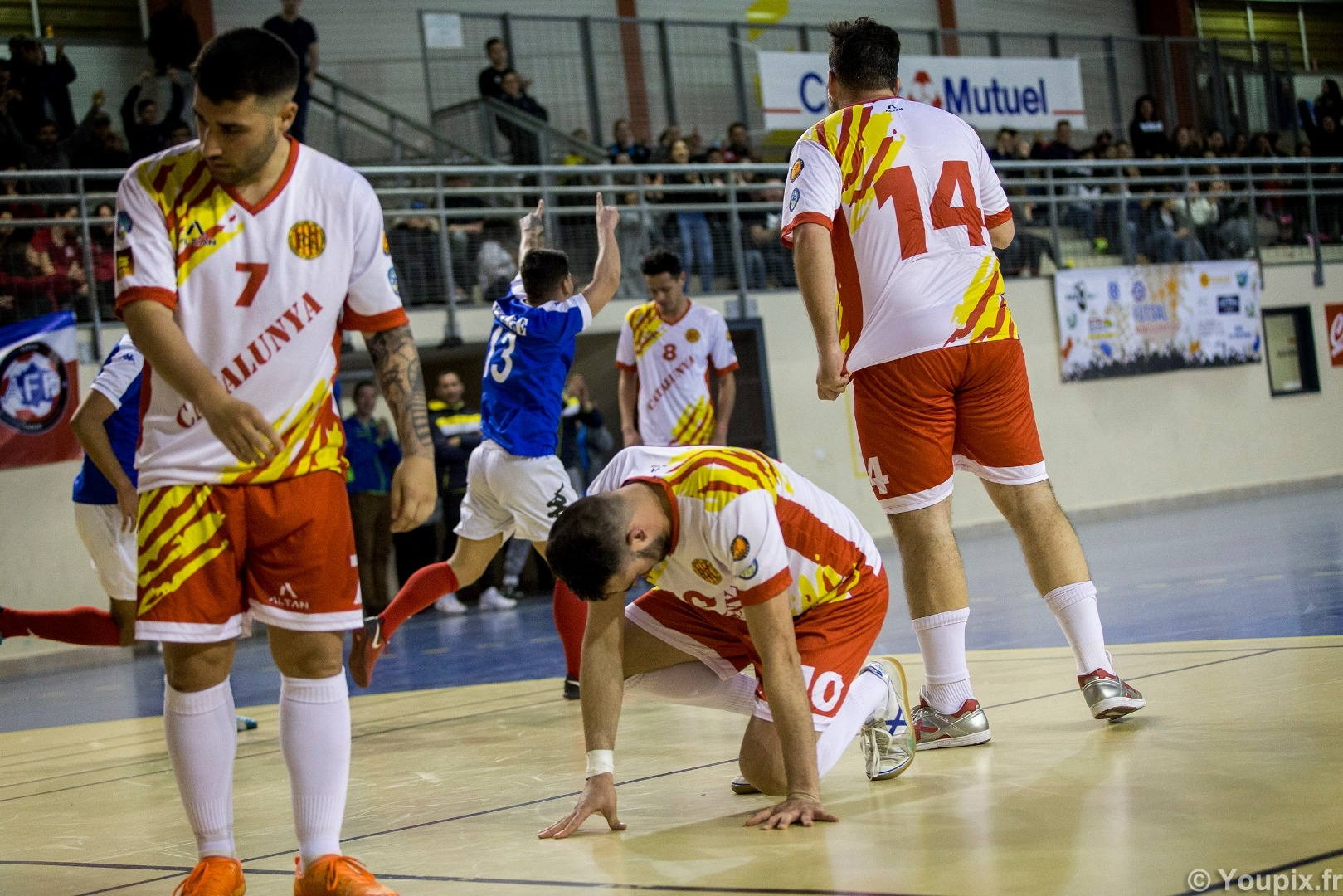 tests matches futsal france catalogne amf 4