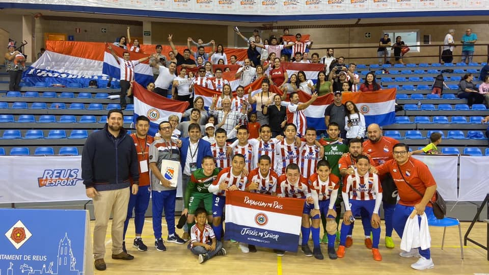 paraguay c13 champion du monde