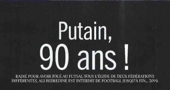 90 ans peur fff aff
