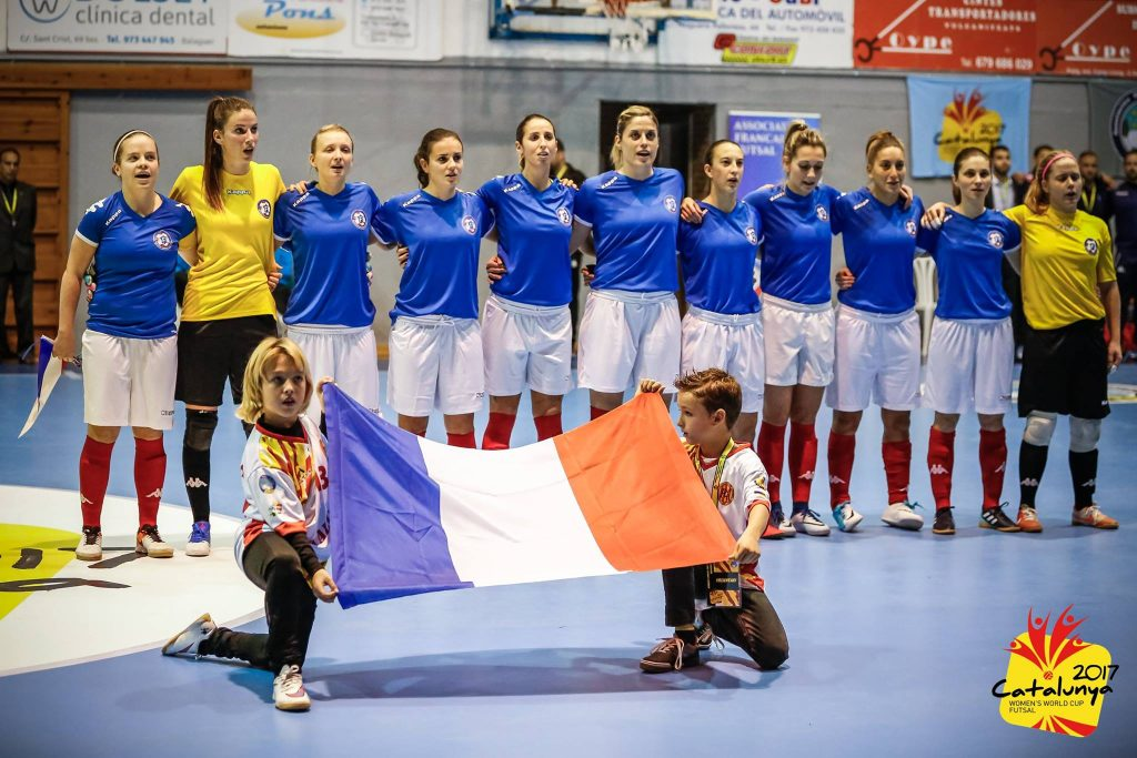 equipe de france de futsal feminin amf aff