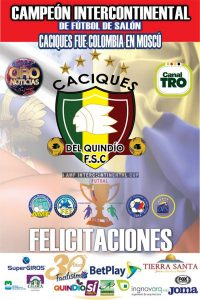 caciques intercontinental cup 2019