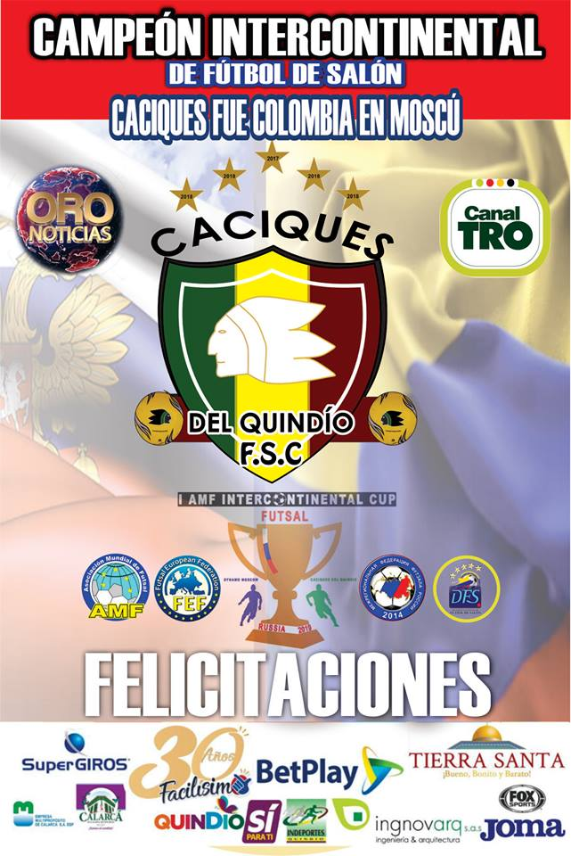 caciques intercontinental cup 2019