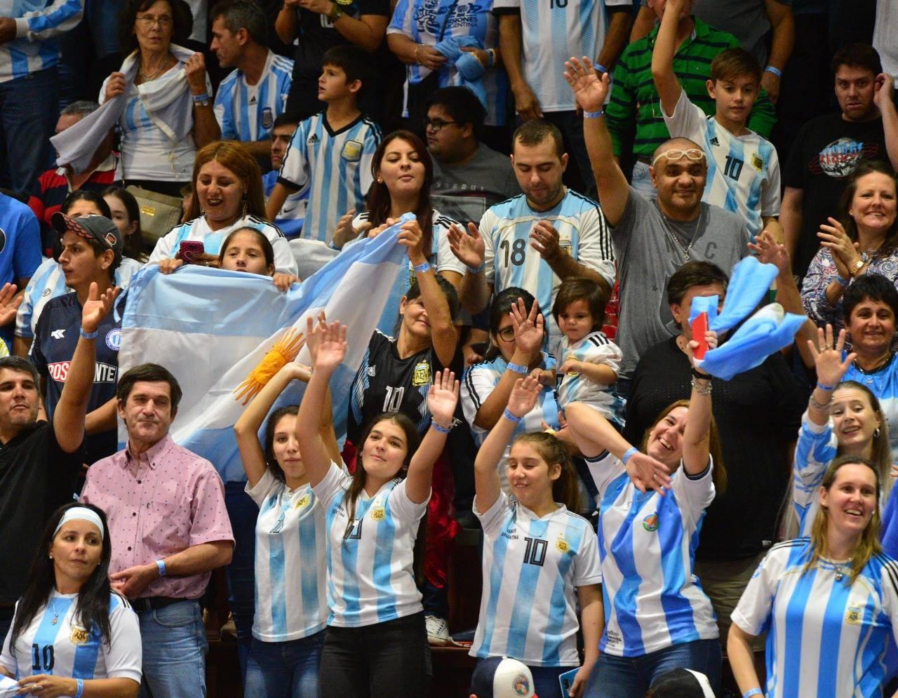 supporter argentine